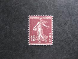 TB N° 189, Neuf X . - Unused Stamps