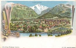SUISSE BERNE #28763 GRUSS AUS INTERLAKEN GENERALANSICHT VUE GENERALE - BE Berne