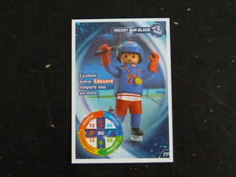 CARTE CARREFOUR PLAYMOBIL N° 77 - HOCKEY SUR GLACE - Other