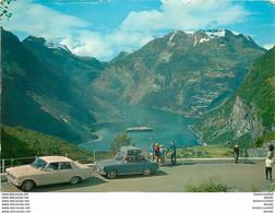 Photo Cpsm Cpm NORVEGE 1974 Geiranger - Norvegia