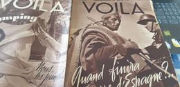 VOILA 38/ ESPAGNE GUERRE REFUGIES LUCHON /LA MONDAINE ROBERT/CHINE PRINTEMPS/CAMPING  JEUNES - 1900 - 1949