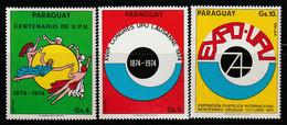 PARAGUAY - N°PA 682/4 ** (1974) U.P.U - Paraguay