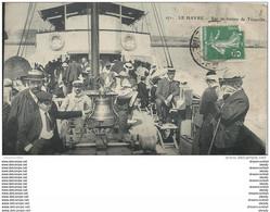 WW 76 LE HAVRE. La Cloche Sur Un Bateau De Trouville 1910 - Zonder Classificatie