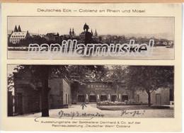 Sektkellerei Deinhard & Co., Koblenz, Reichsausstellung Deutscher Wein 1925 - Koblenz