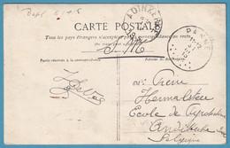 C En SM Càd PANNE/1915 Pour Arriv Càd ADINKERKE - Niet-bezet Gebied