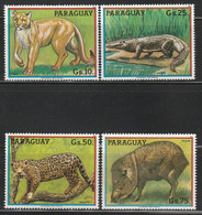 PARAGUAY - N°2070/3 ** (1984) Animaux Sauvages - Paraguay