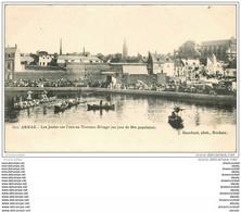62 ARRAS. Joutes Sur L'Eau Nouveau Rivage Vers 1900 - Arras