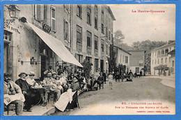 31 - Haute Garonne -  Encausse Les Bains - Sur La Terrasse Des Hotels Et Cafes  (N5038) - Other Municipalities