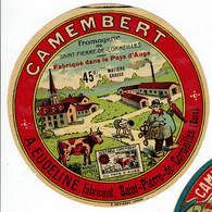 """Et. Camembert """" FROMAGERIE St Pierre De Cormeilles """" 45% . - Kaas"""
