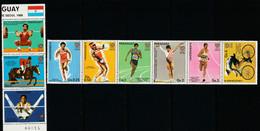 PARAGUAY - N°2268/74 ** (1986) Jeux Olympiques De Séoul 1988 - Paraguay