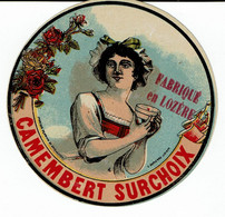 Et. DEMI CAMEMBERT Surchoix  Fabriqué En Lozère - Kaas
