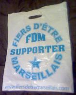 Sachet - Football - Fiers D'être Supporter Marseillais - 50 X 40 Cm (PAK) - Autres