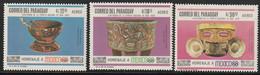 PARAGUAY - Poste Aérienne N°479/81 ** (1967) Sulptures - Paraguay