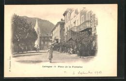 CPA Laragne, Place De La Fontaine - Zonder Classificatie