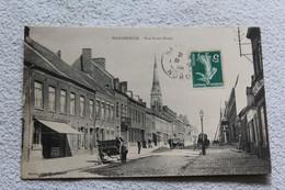 Cpa 1909, Hazebrouck, Rue Notre Dame, Nord 59 - Hazebrouck