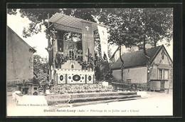 CPA Mesnil-Saint-Loup, Pèlerinage 1908, L`Autel - Zonder Classificatie