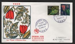 Togo  LOME  FDC   15 Janvier 1959   Flore D'outre-mer - Togo (1960-...)