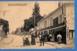 91 - Essonne - Saint Michel Sur Orge - Hotel Restaurant Meunier    (N5051) - Saint Michel Sur Orge