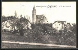 AK Giesshübl, Ortspartie Mit Kirche - Non Classificati