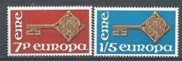 Irlande 1968 N°203/204 Neufs ** Europa - Nuevos