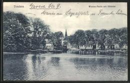CPA Tondern, Wiedau-Partie Avec Südertor - St. Helena