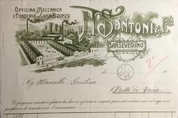 1926 SANSEVERINO. SANTONI - Reclame