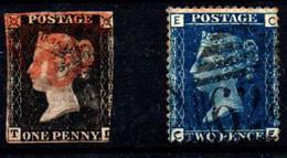 Gran Bretaña  Nº 1, 15. Año 1840/1854 - Usati