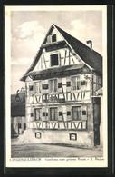 CPA Langensulzbach, Gasthaus Zum Grünen Baum - Sin Clasificación