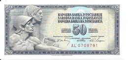 YOUGOSLAVIE 50 DINARA 1968 UNC P 83 - Yougoslavie