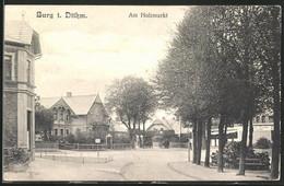 AK Burg I. Dithm., Am Holzmarkt Mit Pferdewagen - Sin Clasificación