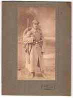 Fotografie J. Dehe, Hamburg, Infanterist In Feldgrau Mit Pickelhaube & Überzug, Gewehr, Ausrüstung, 1.WK - Oorlog, Militair