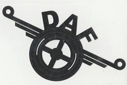 DAF Logo Van Metaal - Vrachtwagens