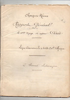 """Rapport Général Du Voyage Vapeur """"Cérès"""" Chargeurs Réunis Ligne Côte Occidentale D'Afrique Départ Dunkerque En 1913 - Boten"""
