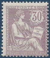 France Mouchon N°128** Fraicheur Postale Signé Calves Cote Yvert : 1000 € - 1900-02 Mouchon