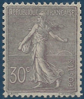 France Semeuse N°133** Quasi Fraicheur Postale Signé Calves Cote Yvert : 200 € - 1903-60 Sower - Ligned