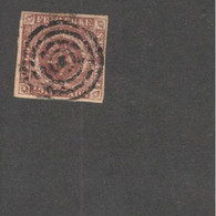 DENMARK    1851: Michel 1used - Used Stamps