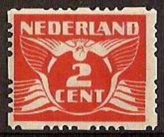 Nederland 1928 Roltanding 36 Postfris/MNH Vierzijdige Roltanding, Syncopated, Rollenzahnung - Heftchen Und Rollen