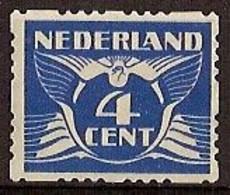 Nederland 1928 Roltanding 39 Postfris/MNH Vierzijdige Roltanding, Syncopated, Rollenzahnung - Heftchen Und Rollen