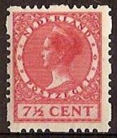 Nederland 1928 Roltanding 43 Postfris/MNH Vierzijdige Roltanding, Syncopated, Rollenzahnung - Heftchen Und Rollen
