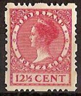 Nederland 1928 Roltanding 46 Postfris/MNH Vierzijdige Roltanding, Syncopated, Rollenzahnung - Heftchen Und Rollen