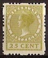 Nederland 1928 Roltanding 51 Postfris/MNH Vierzijdige Roltanding, Syncopated, Rollenzahnung - Heftchen Und Rollen