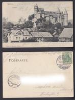 Ansichtskarte Herborn Schloss Gestempelt Herborn + Traben 1903 - Unclassified