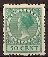 Nederland 1928 Roltanding 55 Postfris/MNH Vierzijdige Roltanding, Syncopated, Rollenzahnung - Heftchen Und Rollen