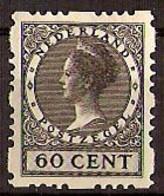 Nederland 1928 Roltanding 56 Postfris/MNH Vierzijdige Roltanding, Syncopated, Rollenzahnung - Heftchen Und Rollen
