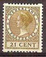 Nederland 1930 Roltanding 68 Postfris/MNH Tweezijdige Hoekroltanding, Syncopated, Rollenzahnung - Heftchen Und Rollen