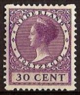 Nederland 1930 Roltanding 69 Postfris/MNH Tweezijdige Hoekroltanding, Syncopated, Rollenzahnung - Heftchen Und Rollen