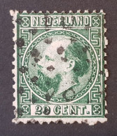 Pays-Bas - Nederland, Timbre(s) Y&T 10 - (O) - 2 Scan(O) - TB - 334 - Gebruikt