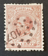 Pays-Bas - Nederland, Timbre(s) Y&T 20 - (O) - 2 Scan(O) - B - 340 - Gebruikt