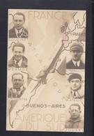 Frankreich France Arc-en-Ciel 1933 Buenos Aires Argentina - Piloten
