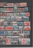 FRANCE-Collection De 130 Timbres Poste OBLITERES N° 124 à 1220- Cote 96.25 - Collections (without Album)